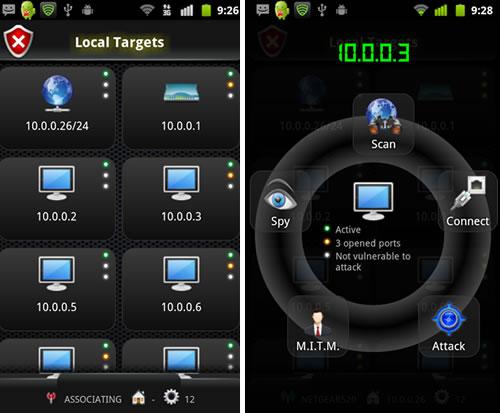 hacking desde móviles con android