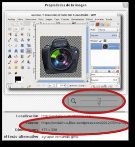 datos exif imagen web