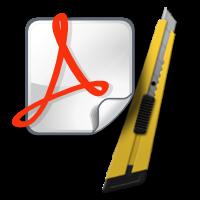 cortar contenido pdf