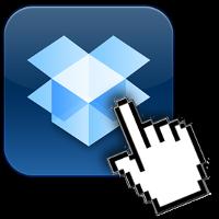 arrastrar ficheros dropbox