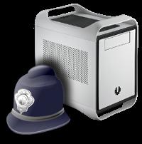 seguridad caja ordenador