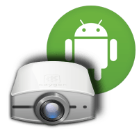 proyector de vĂ­deo android