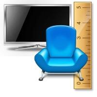 calcular distancia televisor