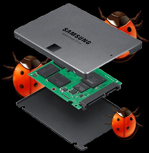 bug firmware samsung ssd evo