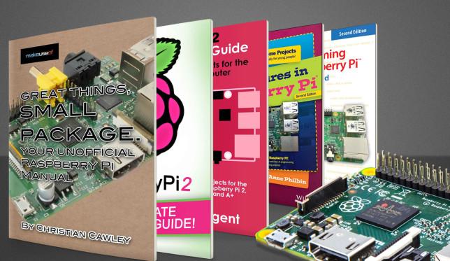 libros para sacar todo el partido a tu raspberry pi