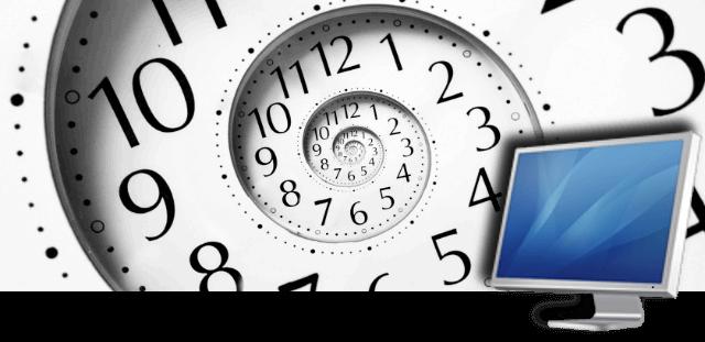 cómo calcular el tiempo que llevamos en el ordenador