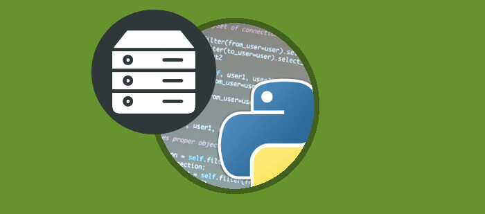built-in python server