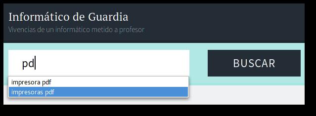 eliminar sugerencia navegador web