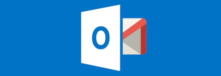 gestionar outlook desde gmail