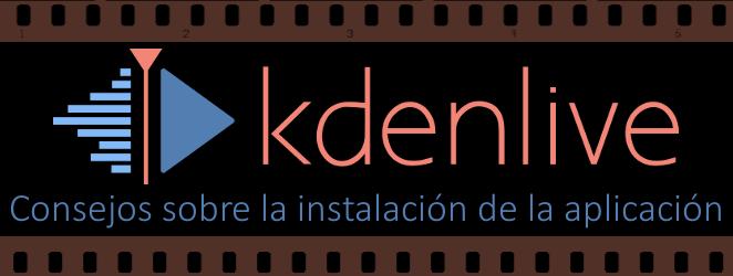 linux kdenlive install +solved