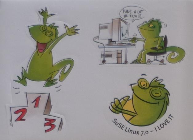 recuerdos de Suse Linux