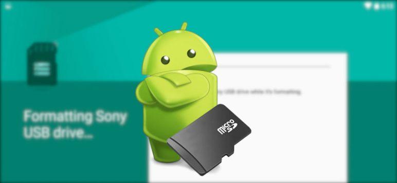 usar sdcard como almacenamiento interno android