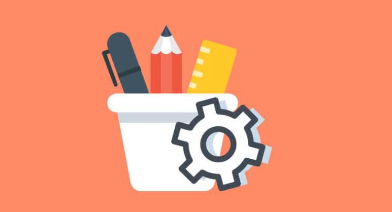 herramientas de configuración de gimp