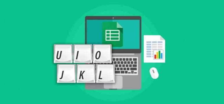 Los atajos de teclado más habituales en Google Sheets