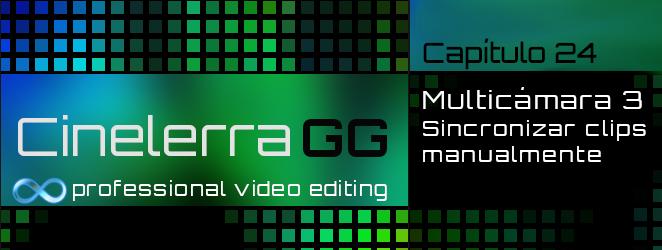 sincronizar manualmente varias cámaras con Cinelerra GG