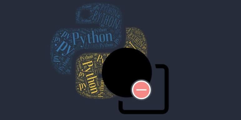 obtener elementos únicos en python